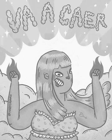 poster-8m-abya-yala-feminismo-mujeres-ilustracion-yosoyladance-se-va-caer