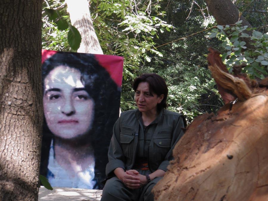 12 Kurdistán Qandil comandanta la-tinta