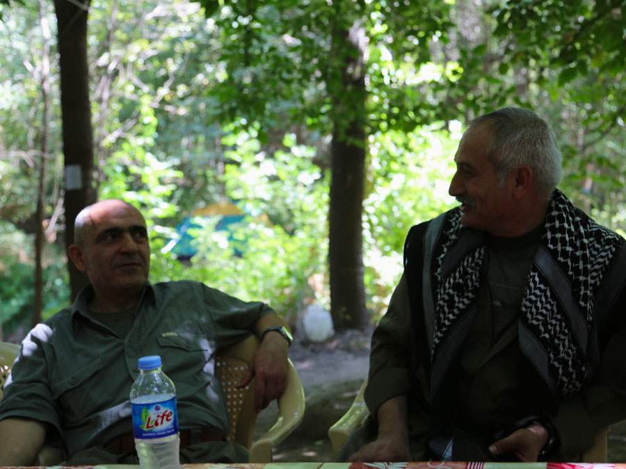 15 Kurdistán Qandil comandantes la-tinta