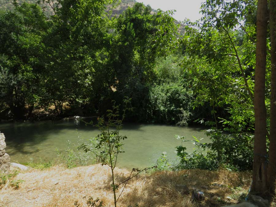 3 Kurdistán Qandil río la-tinta