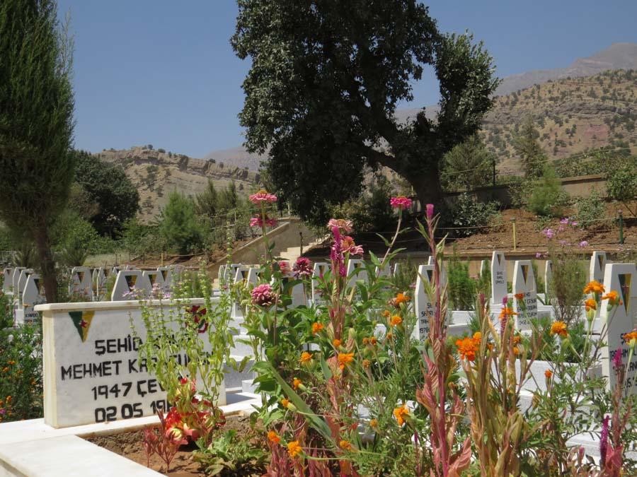 7 Kurdistán Qandil Cementerio la-tinta