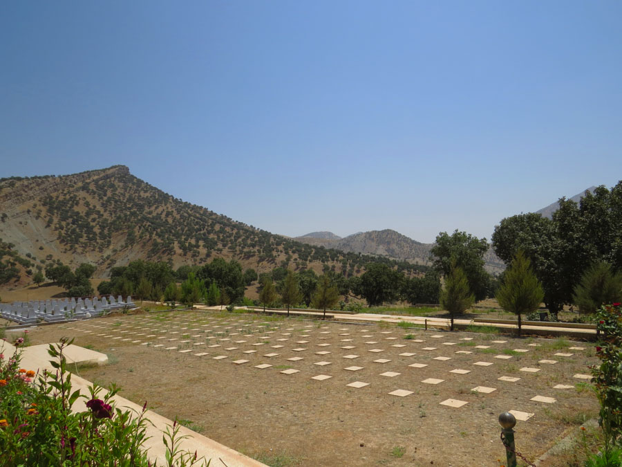 8 Kurdistán Qandil montañas la-tinta