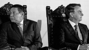 Hamilton Mourão se prueba la banda y sueña con un Brasil imperial