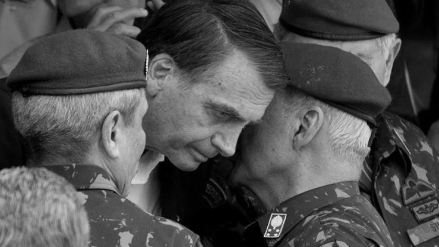 Brasil Jair Bolsonaro generales militares la-tinta
