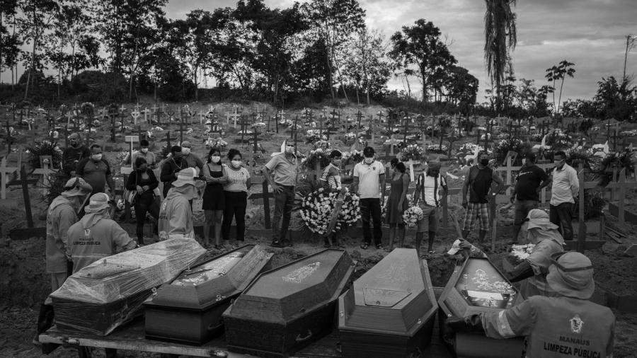 Brasil coronavirus entierro cementerio la-tinta