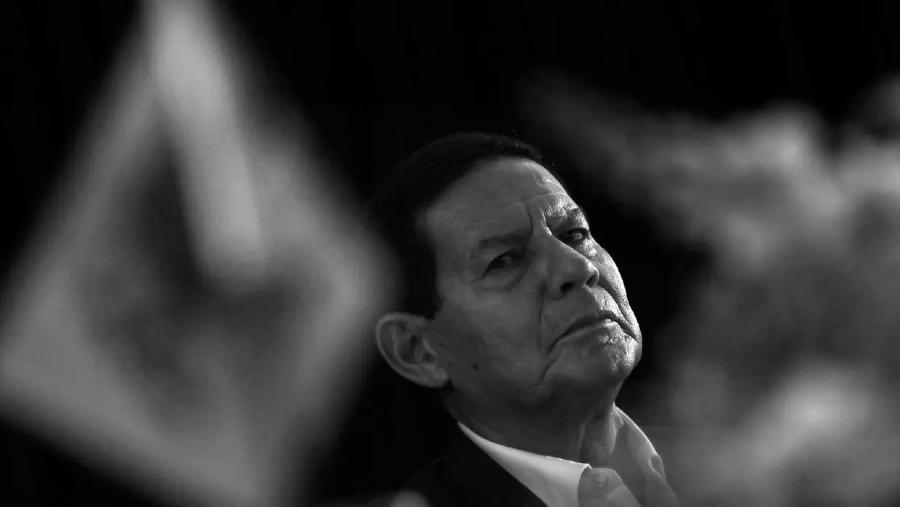 Brasil vicepresidente Hamilton Mourao la-tinta