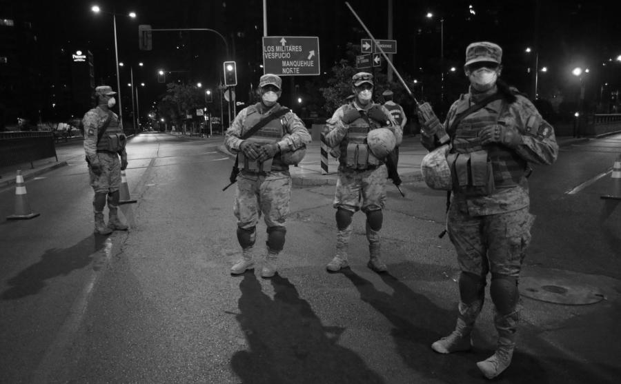 Chile militarizacion coronavirus la-tinta
