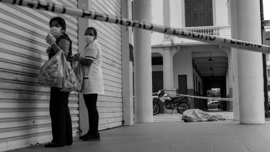 Ecuador Guayaquil coronavirus muerto la-tinta