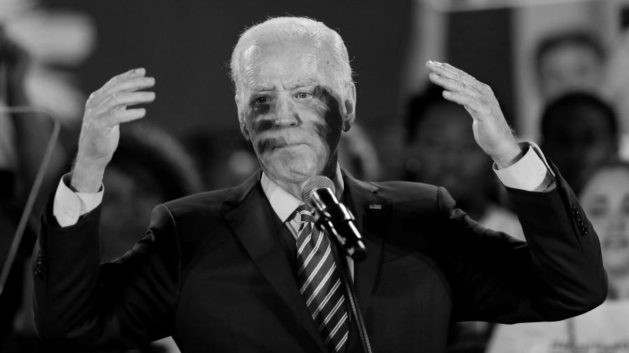 Estados Unidos Joe Biden candidato democrata la-tinta