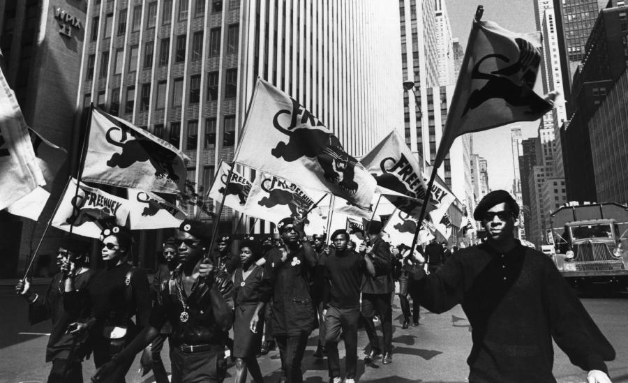 Estados Unidos Panteras Negras movilizacion la-tinta