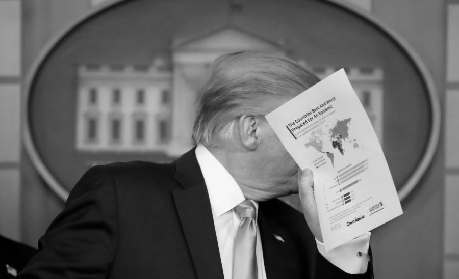 Estados Unidos coronavirus informe Trump la-tinta