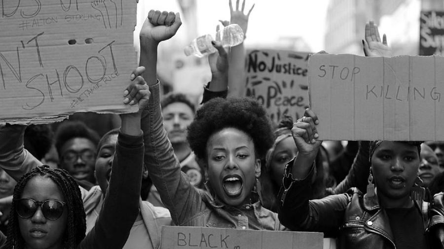 Estados Unidos mujeres negras protesta la-tinta