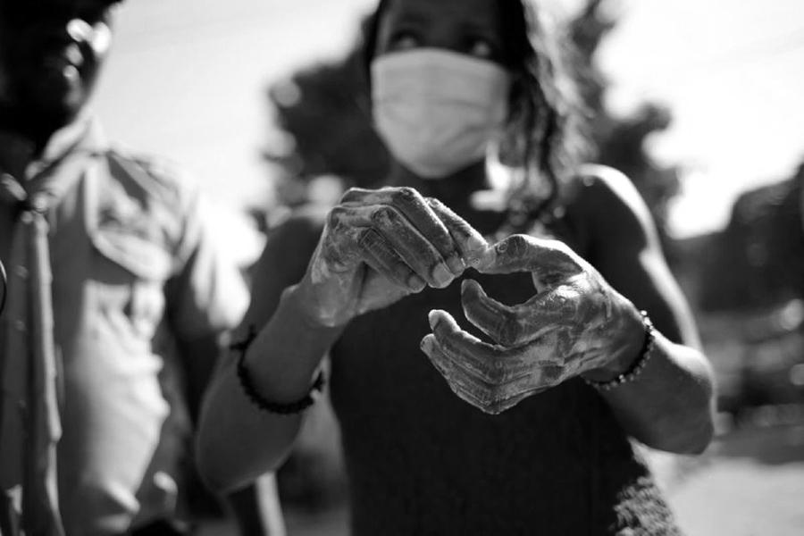 Haiti coronavirus higiene la-tinta