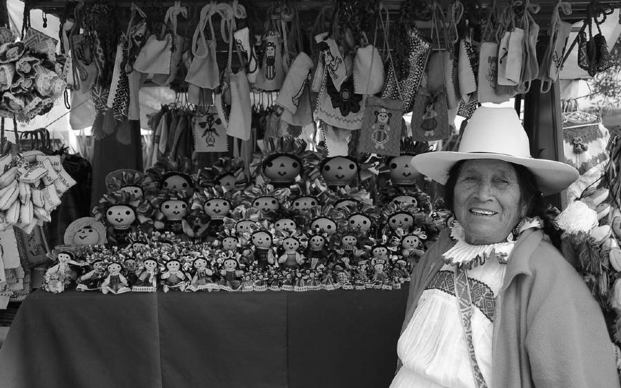 Mexico artesania otomi la-tinta