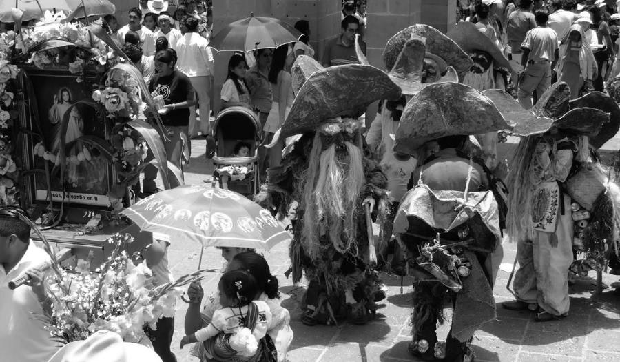 Mexico danza otomi la-tinta