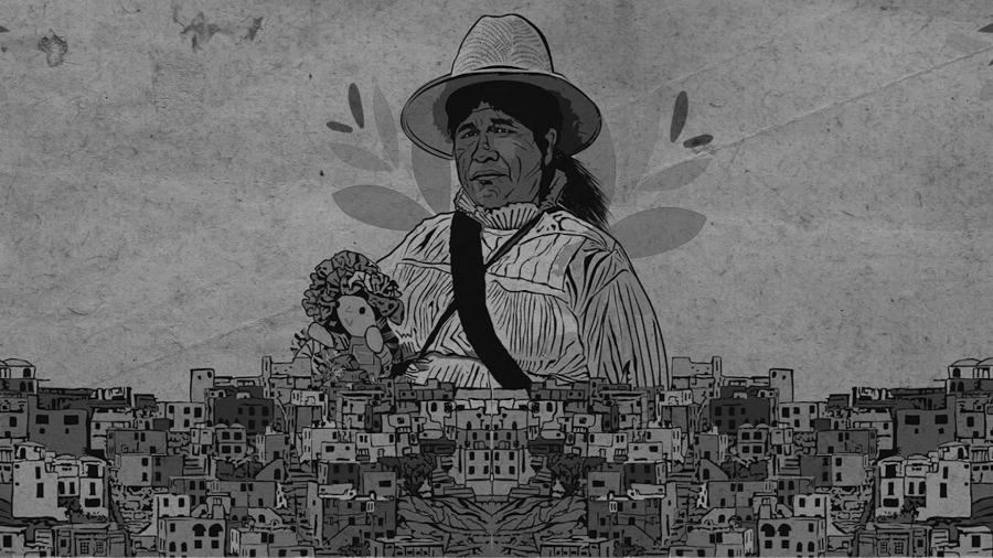 Mexico mujer otomi la-tinta