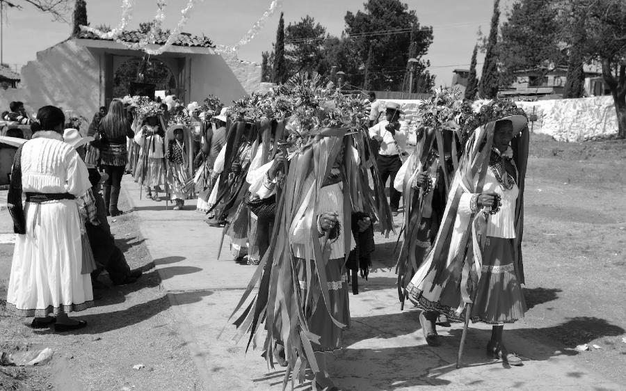 Mexico pueblo otomi la-tinta