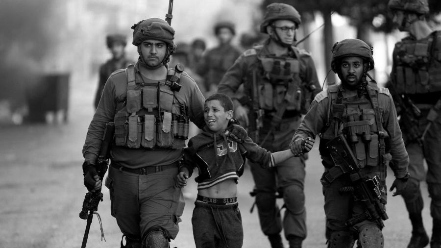 Palestina niño arrestado por ejercito israeli la-tinta
