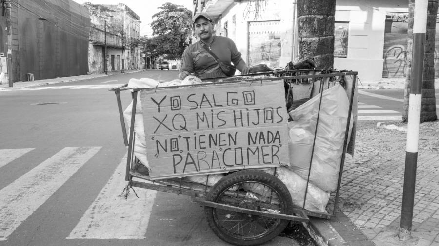 Paraguay coronavirus trabajador informal la-tinta