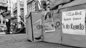 La huelga en las apps de reparto en tiempos de coronavirus