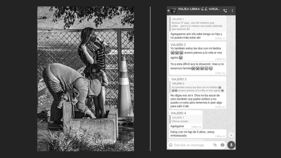 Peru desplazados mensajes la-tinta