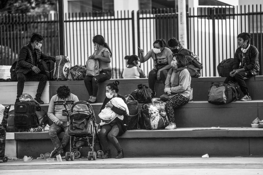 Peru migrantes internos coronavirus la-tinta
