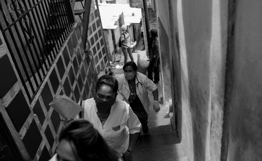 Venezuela coronavirus medicos en los barrios la-tinta