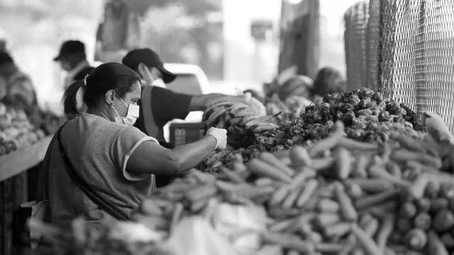 Venezuela mercado cuarentena la-tinta