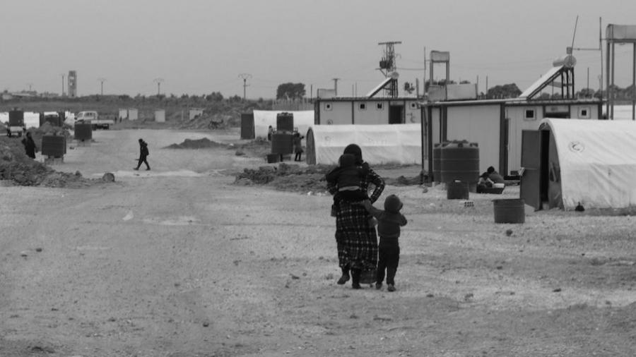 norte y este de siria campamento de refugiados la-tinta
