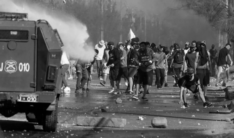 Chile protestas callejeras por comida la-tinta