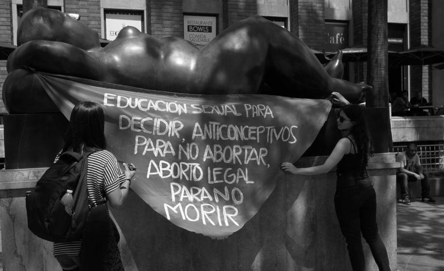 Colombia lucha por el aborto la-tinta