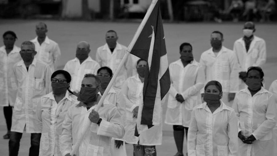 Cuna medicos coronavirus solidaridad la-tinta