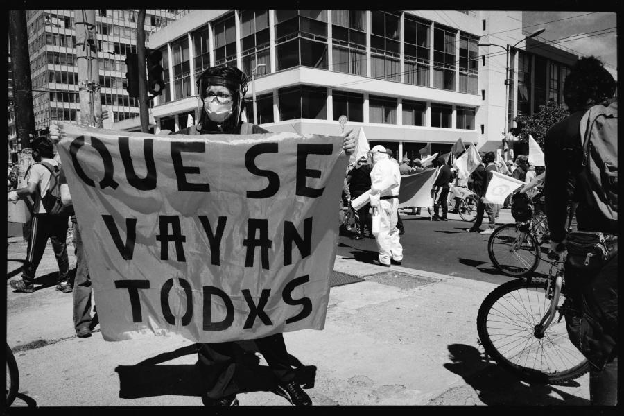 Ecuador manifestaciones contra el gobierno la-tinta