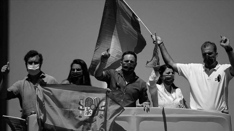 España Vox contra cuarentena la-tinta