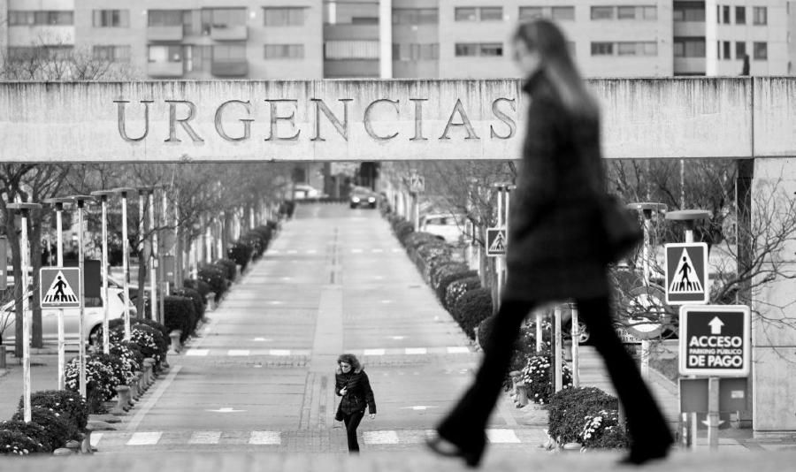 España hospital coronavirus la-tinta