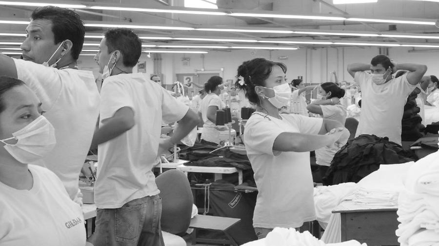 Honduras coronavirus maquilas la-tinta