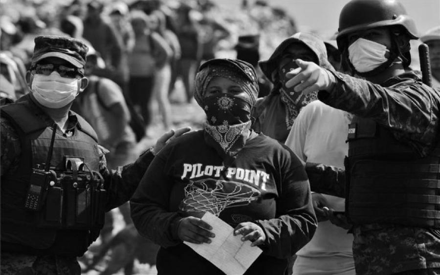Honduras policia coronavirus la-tinta
