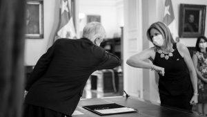 Piñera intenta arremeter contra el movimiento feminista