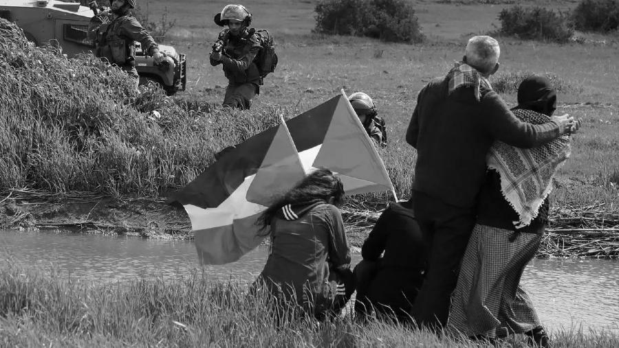 Palestina pobladores represion israeli la-tinta