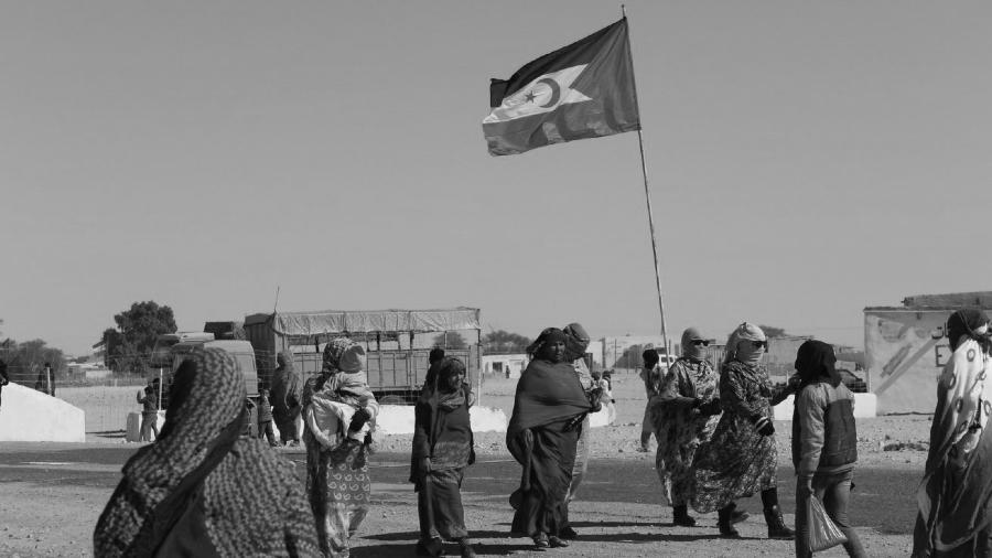 Sahara Occidental mujeres saharauis la-tinta