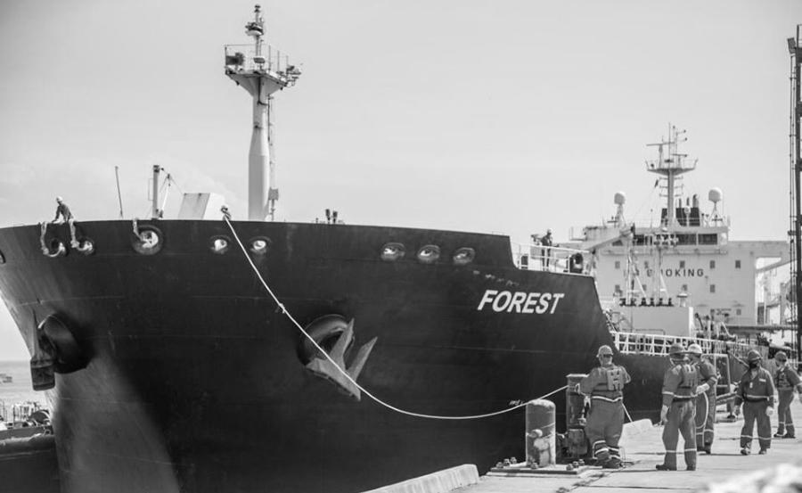 Venezuela buque petrolero irani la-tinta