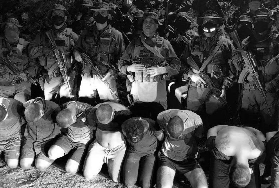 Venezuela fuerzas armadas capturan mercenarios la-tinta