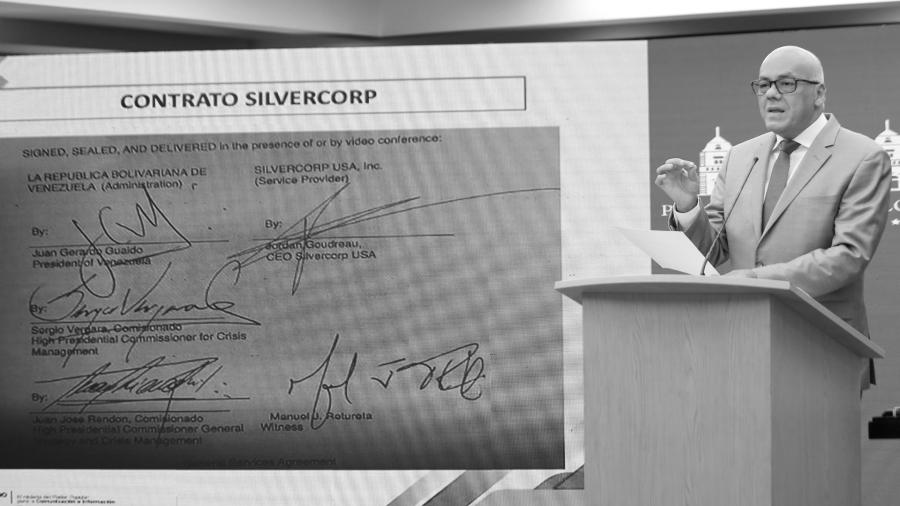 Venezuela ministro de Comunicacion contrato Silvercorp la-tinta
