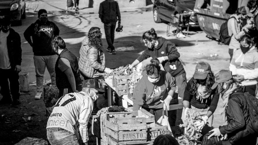 Villa 31-alimentos-donación-verdura-cuarentena