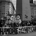 Organizaciones sociales retoman protestas por alimentos, trabajo y la crisis sanitaria