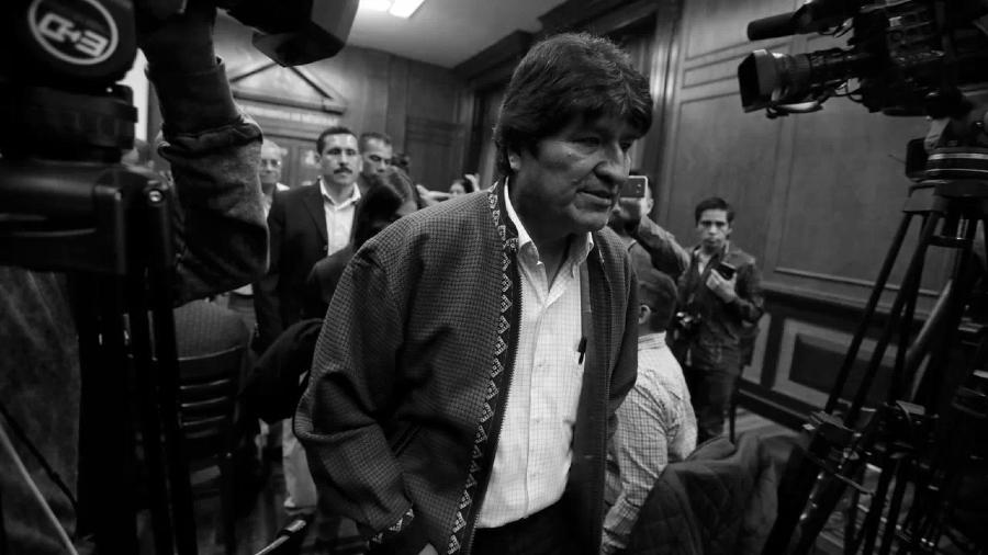 Argentina Evo Morales conferencia la-tinta