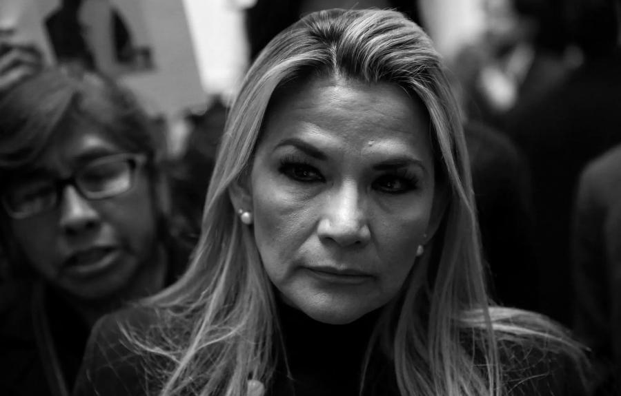 Bolivia presidenta de facto la-tinta