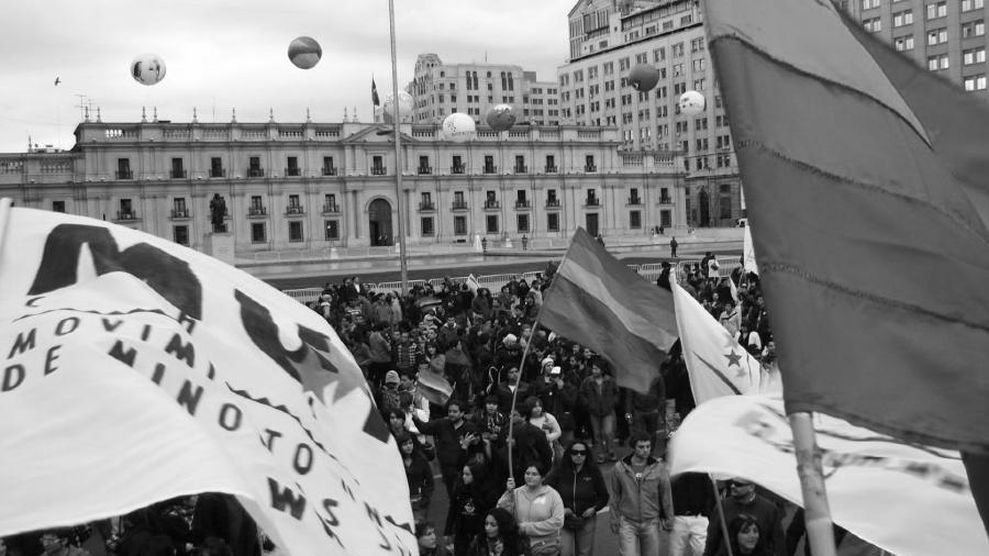 Chile movilizacion lgbtiq+ la-tinta