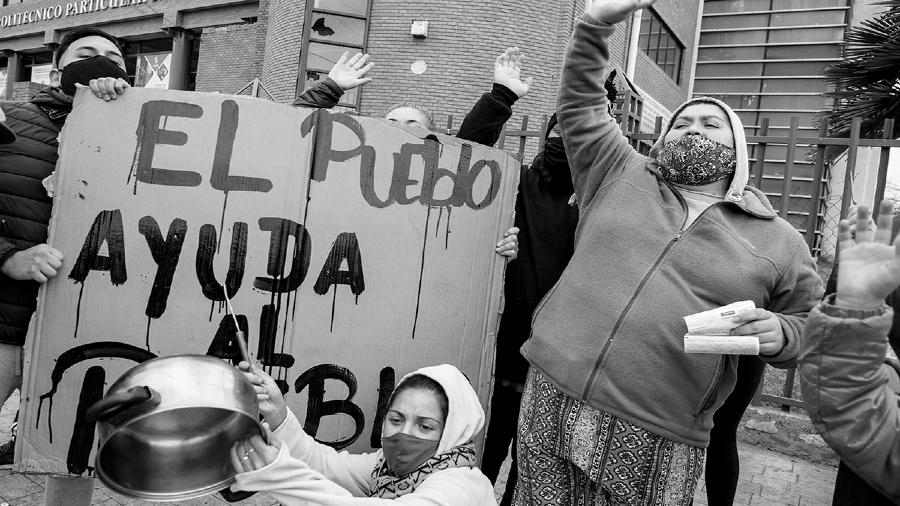 Chile ollas populares coronavirus la-tinta