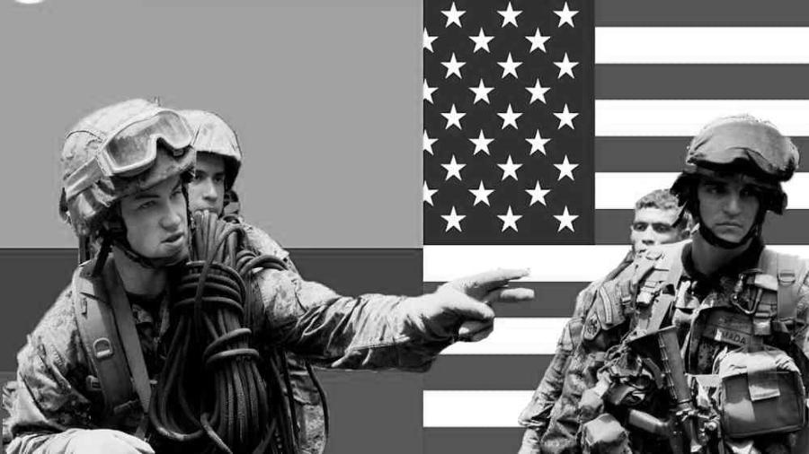 Colombia Estados Unidos soldados la-tinta